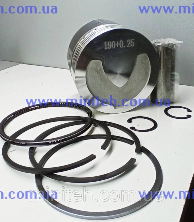 Поршневий к-т дв. R 190 (з вибіркою) рем. +0,25 мм Premium