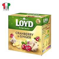 Чай Loyd клюква-имбирь 20 пирамид 40г