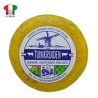 Сыр голландский авторский Tuinkruiden Травы +Peper 1шт, ± 480г