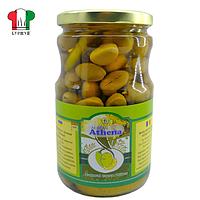 Оливки атена с перцем и лимоном, с/б 700/425г