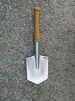 Лопата саперная оцинкованная (МСЛ) 1984 г., фото 2