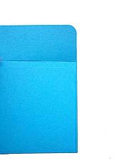 Конверт ярко голубой 100х100 270гр, фото 3