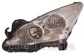 Фара левая электро Н7+Н7 для Peugeot 3008 2009-13