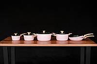 Набор кухонной посуды с тефлоновым покрытием DMS TSM 4010RS