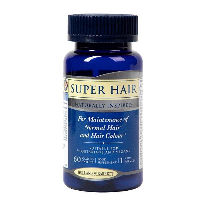 Биологически активная добавка Holland & Barrett Super Hair, 60 шт.