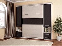 Шкаф-кровать трансформер с пеналами и выдвижными ящиками