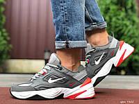 Мужские демисезонные кроссовки Nike M2K Tekno,серые