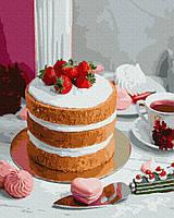 Картина по номерам Brushme Ягодный десерт