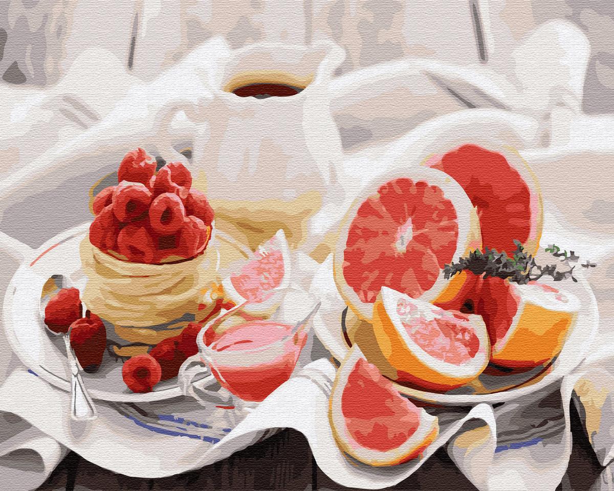 Картина по номерам Brushme Полезный завтрак