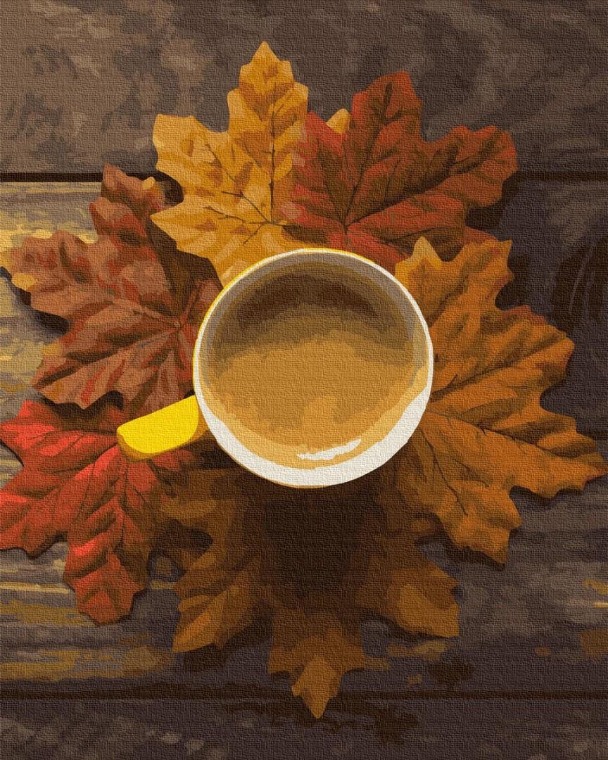 Картина по номерам Brushme Картина по номерам Brushme Осеннее какао