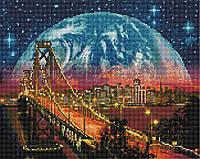 Алмазная мозаика Brushme Манхэттенский мост