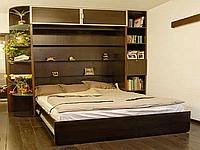 Модульная стенка со шкаф-кроватью, фото 1
