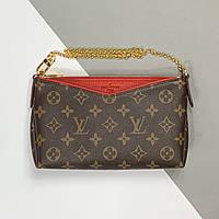 Женская сумка Clutch Pallas Monogram Louis Vuitton (Луи Виттон Клатч Паллас Монограм) арт. 03-12