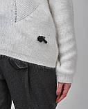 Женский свитер белого цвета Serianno. Турция, фото 3