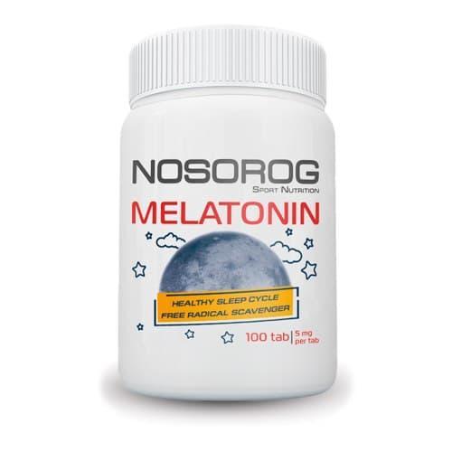 Мелатонин Nosorog Melatonin 100 таблеток (NOS1186)