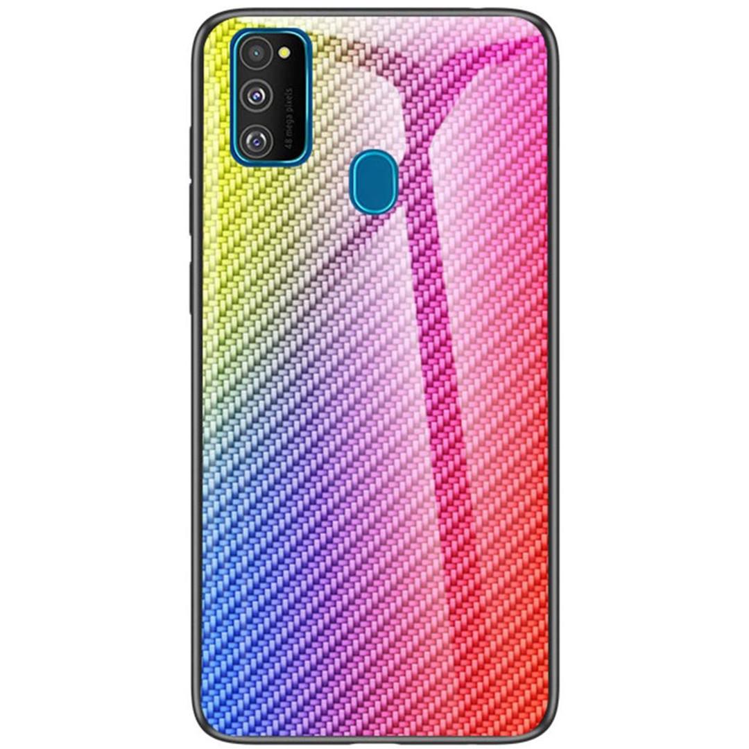 Чехол для Samsung Galaxy M21 (SM-M215) | Wicker Gradient | градиент