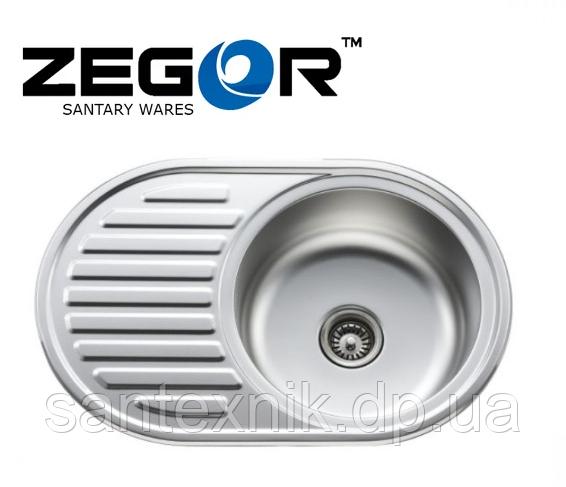 Кухонная мойка Zegor-7750R 77х50х20см