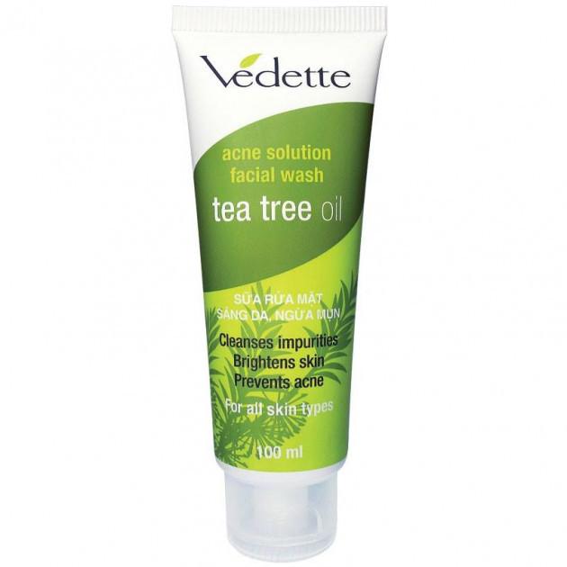 Пена для умывания Vedette с маслом чайного дерева 100 мл