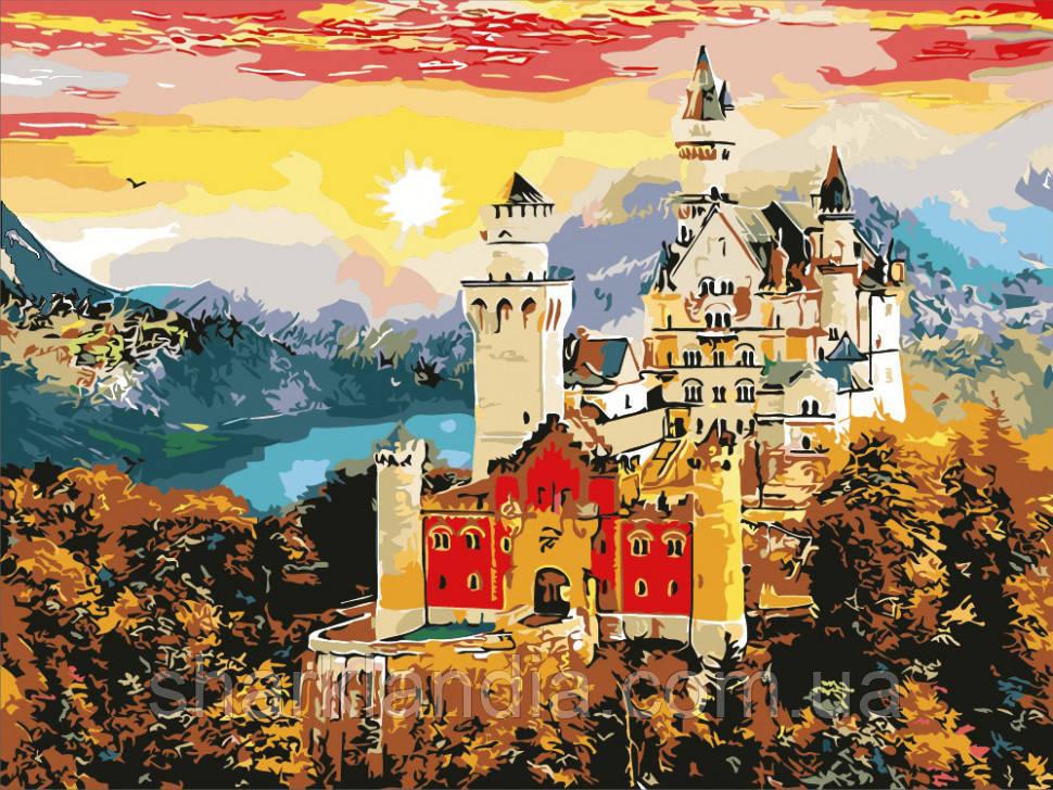 """Картина по номерам. Art Craft """"Осенний замок"""" 10602"""