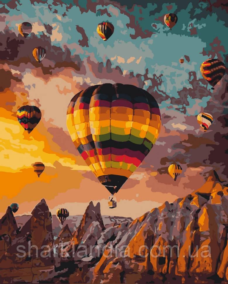 """Картина по номерам. Art Craft """"Воздушные шары Каппадокии"""" 40*50 см 10503-AC"""