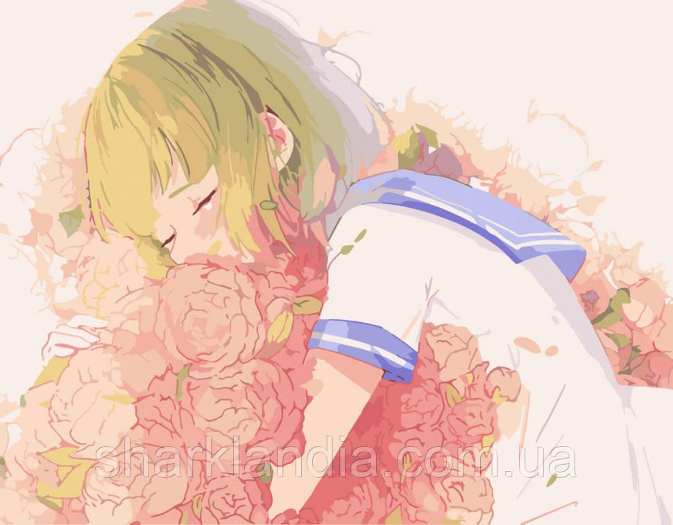 """Картина по номерам. Art Craft """"Цветочная любовь"""" 40*50 см 10214-AC Аниме Наруто"""