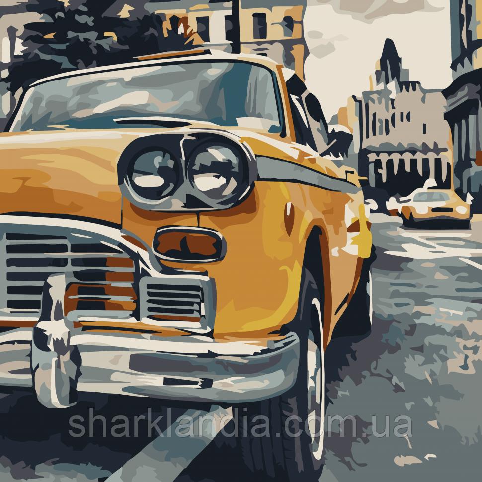 """Картина по номерам. Art Craft """"Особенное такси"""" 40*40 см 10518-АС"""
