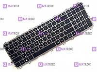 Клавиатура для ноутбука HP Envy 15-J, 15T-J, 15Z-J, 17-J, 17T-J rus, black, серебристая рамка