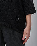 Женский черный свитер Serianno. Турция, фото 3