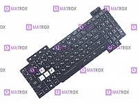 Оригинальная клавиатура для ноутбука Asus TUF Gaming FX505D, FX505D,Y FX505DD ua, RGB-подсветка
