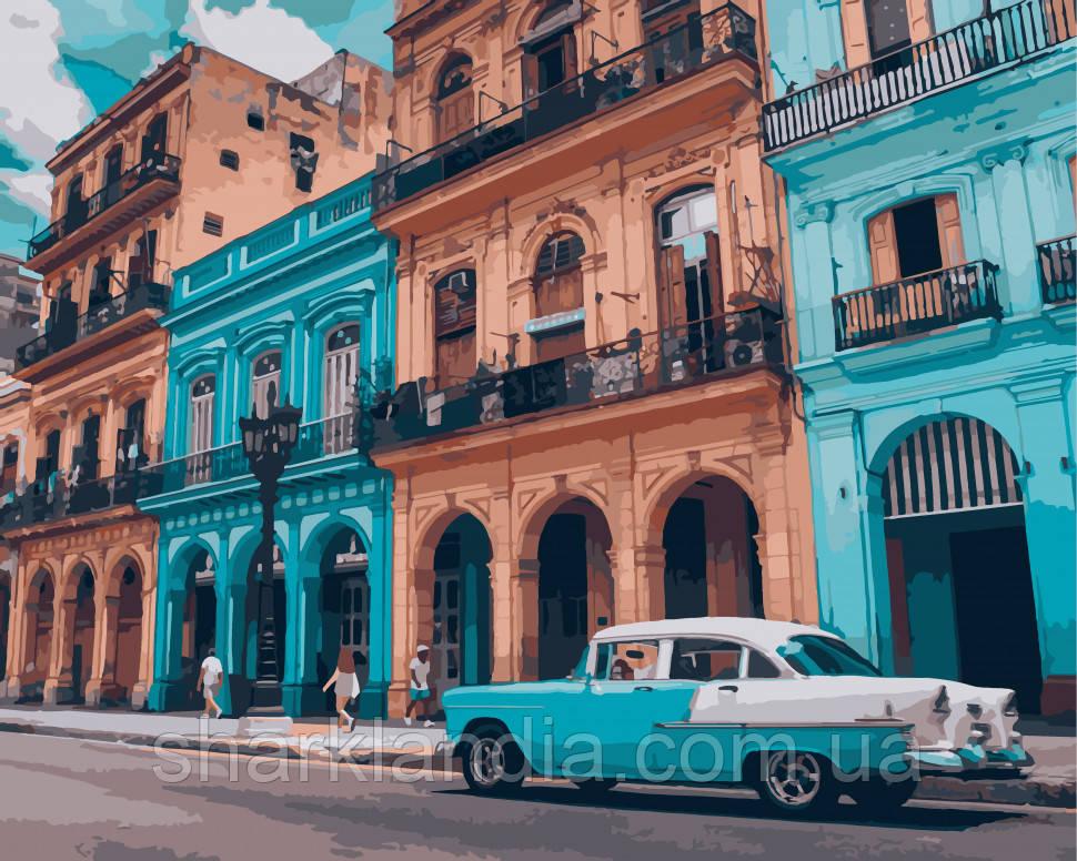 """Картина по номерам. Art Craft """"Яркая Куба"""" 40*50 см 10536-AC"""