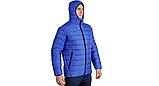 Куртка-пуховик з підігрівом зимова Maximus Blue Chameleon 5V 36-55 З, з контролером температури, фото 4