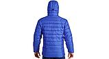 Куртка-пуховик з підігрівом зимова Maximus Blue Chameleon 5V 36-55 З, з контролером температури, фото 6