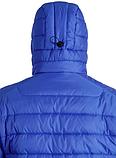Куртка-пуховик з підігрівом зимова Maximus Blue Chameleon 5V 36-55 З, з контролером температури, фото 8