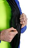 Куртка-пуховик з підігрівом зимова Maximus Blue Chameleon 5V 36-55 З, з контролером температури, фото 7