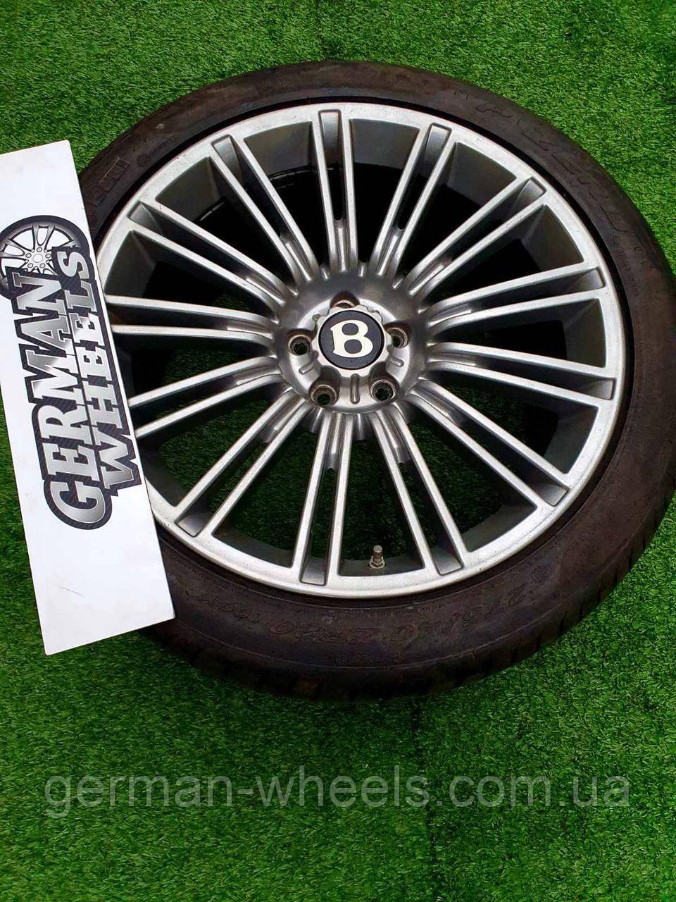 Оригинальные кованые диски R20 Bentley Continental GT / GTS