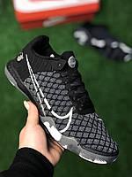 Футзалки Nike React Gato Black найк гато футбольная обувь для зала, фото 1