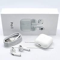 Беспроводные сенсорные наушники для смартфона Apple Airpods Pro 4 Bluetooth гарнитура с микрофоном Айрподс