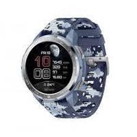 Смарт часы на андроиде с пульсометром синие Honor Watch GS Pro blue