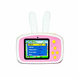 Детский цифровой фотоаппарат  Белый Зайчик Оригинал Children`s fun 20Мп FULL HD 1080P, фото 3