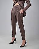 Брючный женский костюм: жакет, брюки, фото 5
