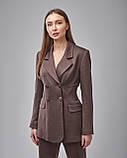 Брючный женский костюм: жакет, брюки, фото 3