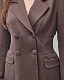 Брючный женский костюм: жакет, брюки, фото 4