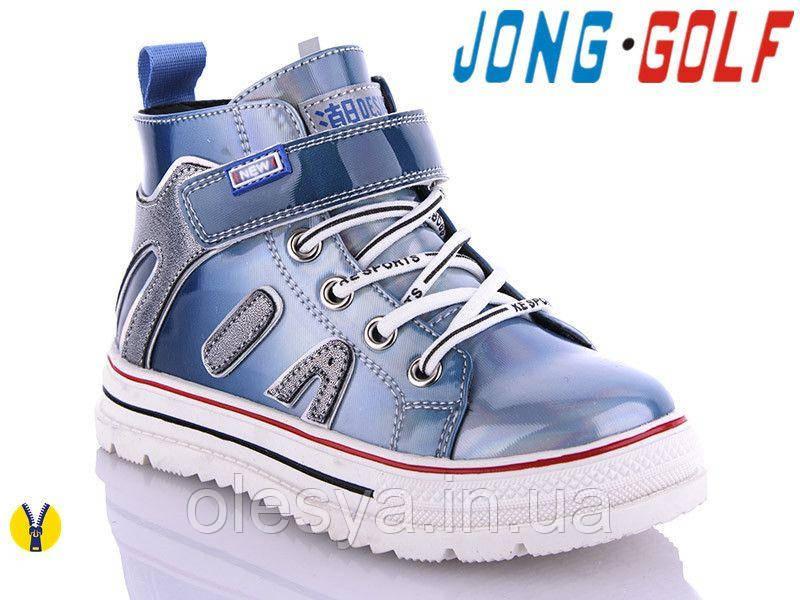 Модные демисезонные ботинки для девочек Jong Golf B30141 Размеры 27 -32