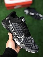 Футзалки Nike React Gato Black найк гато футбольная обувь для зала
