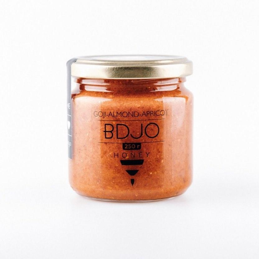 Крем-мёд Годжи-миндаль-абрикос  BDJO 300 гр