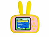 Детский цифровой фотоаппарат Желтый Зайчик 2 Камеры Оригинал Children`s fun 20Мп Full HD 1080p (PY), фото 3
