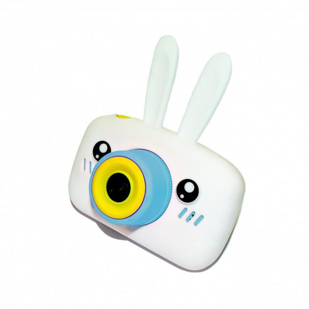 Детский цифровой фотоаппарат  Белый Зайчик Оригинал Children`s fun 20Мп FULL HD 1080P (WB)