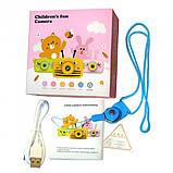 Детский цифровой фотоаппарат  Белый Зайчик Оригинал Children`s fun 20Мп FULL HD 1080P (WB), фото 4