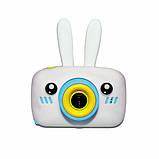 Детский цифровой фотоаппарат  Белый Зайчик Оригинал Children`s fun 20Мп FULL HD 1080P (WB), фото 2