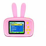 Детский цифровой фотоаппарат Розовый Зайчик 2 Камеры Оригинал Children`s fun 20Мп Full HD 1080p (PY), фото 3